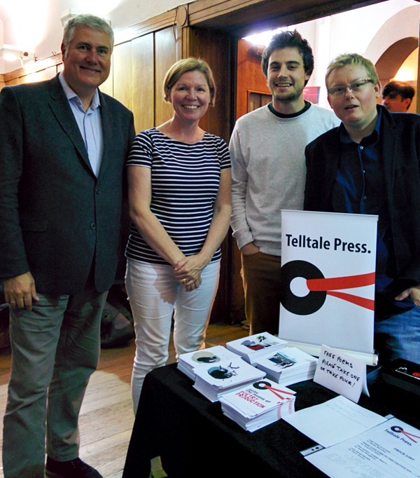 Telltale Poets at the Poetry Book Fair