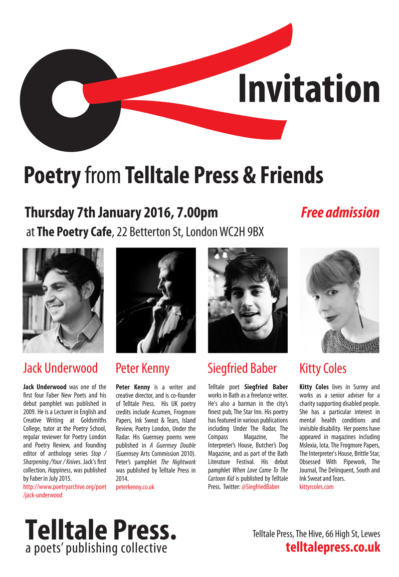 Telltale Poets & Friends Jan 2016